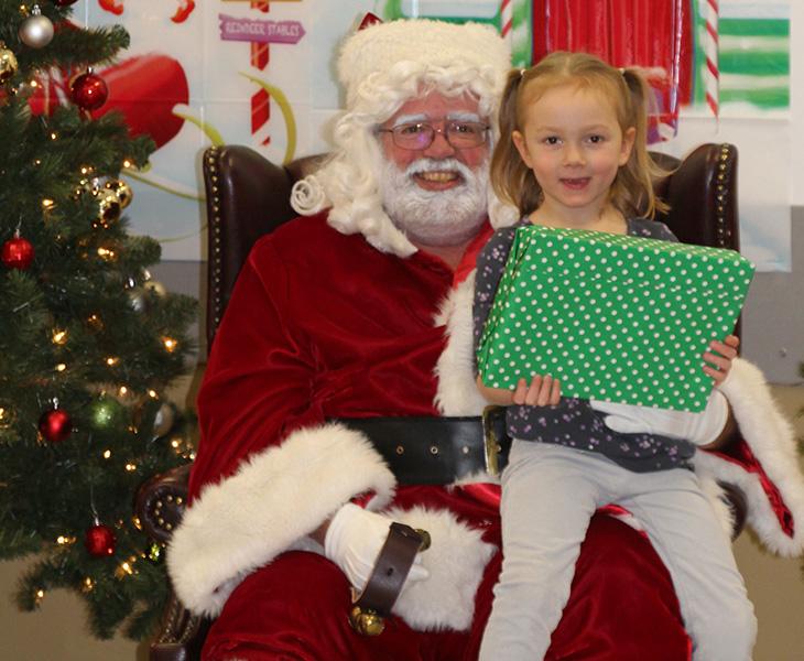 Santa and Heather