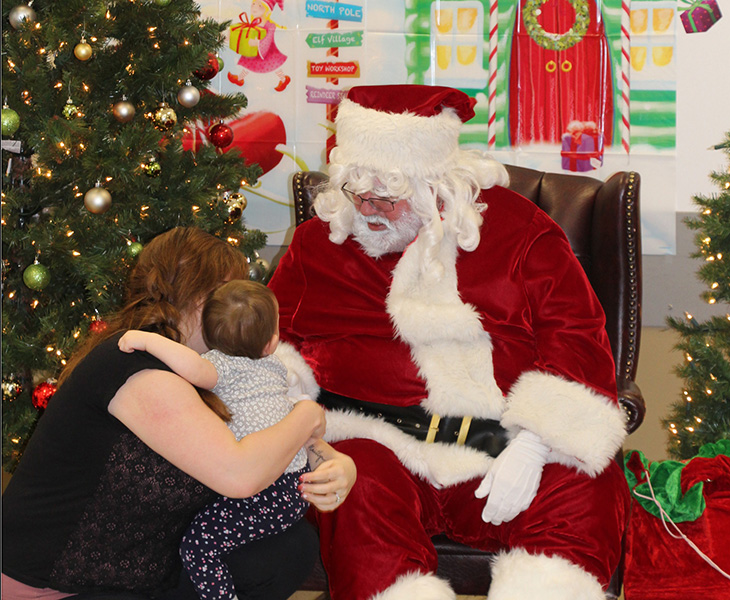 Santa and Maitlyn