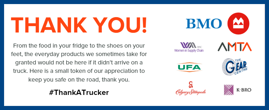 Thank You Truck Drivers